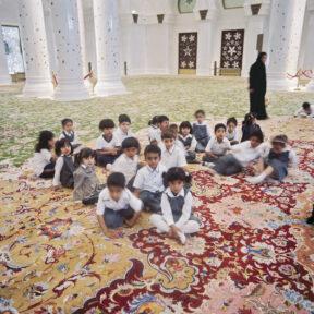 In der Sheik Zayed Grand Mosque