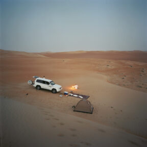 """Desert Overnight Stay"", Wüste bei Hamim,"