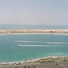Blick auf die Corniche Rd East