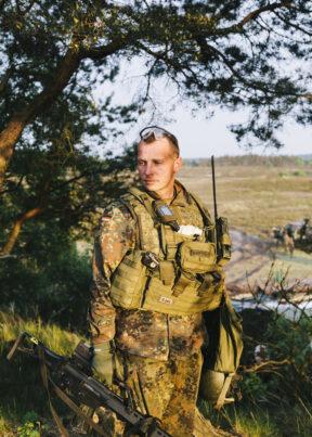 BundeswehrGefechtschießenMunsterFeldwebel Handke- Matern