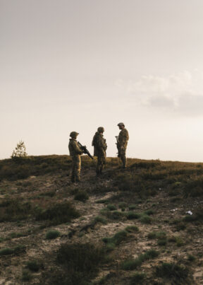 BundeswehrGefechtschießenMunsterSoldaten in der Gefechtsübung