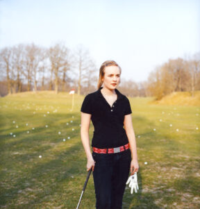 "Golf Player, Stockholm. For ""Stern Magazine"""