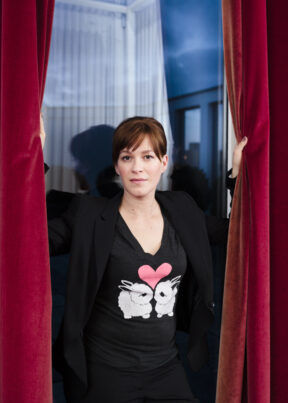 "Franka Potente, Schauspielerin, Berlin. For ""annabelle"""