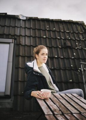 WittenDachterrasse zu Hause bei Nora NagelNora Nagel