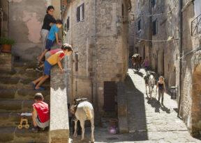 ItalienToskanaReittour durch die MaremmaGang durch Pitigliano