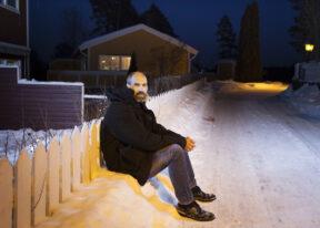 Gunnar StrandAn seinem HausAskerNorwegen