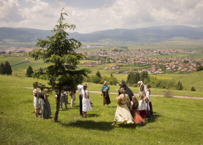 RumänienMiercurea CiucPfingswallfahrtTreffen der Ungarischen Minderheit